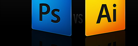 Adobe Photoshop VS Illustrator // when designing for the web